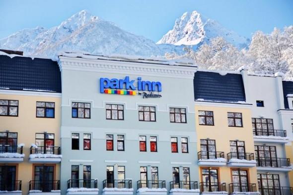 Отель Park Inn by Radisson в Красной Поляне. Изображение № 1.