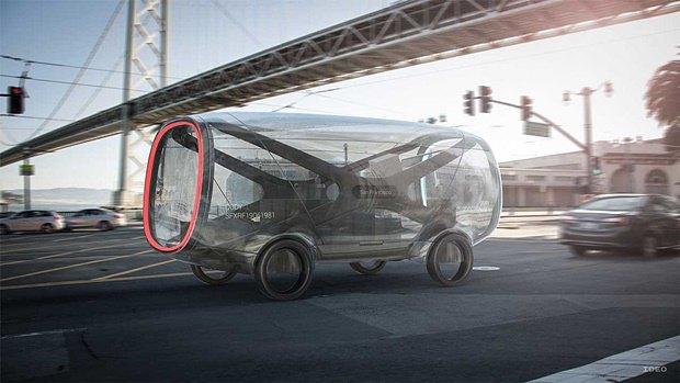 Концепт: как будет выглядеть транспорт в 2029 году. Изображение № 16.