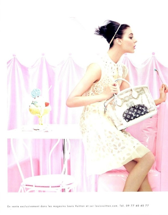 Превью кампаний: Versace, Louis Vuitton и Giuseppe Zanotti. Изображение № 1.