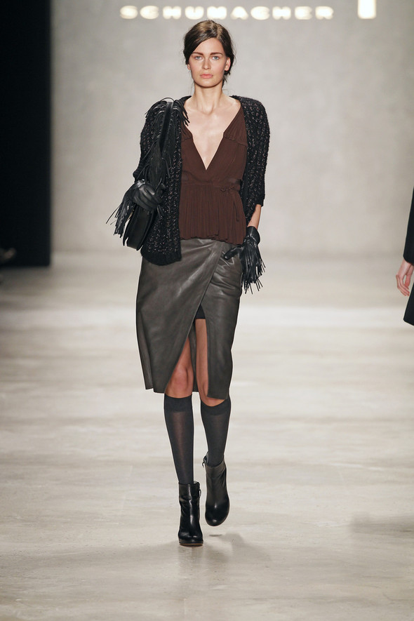 Berlin Fashion Week A/W 2012: Schumacher. Изображение № 44.