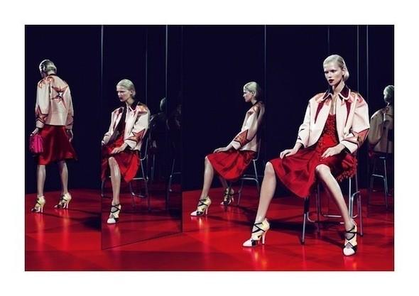 Изображение 43. Рекламные кампании: Celine, Marc Jacobs, Miu Miu и другие.. Изображение № 49.