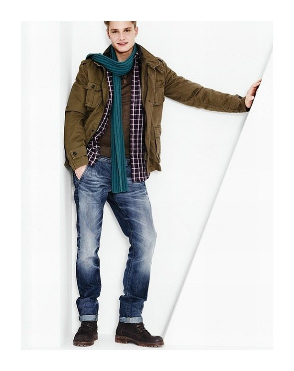 Лукбук: United Colors of Benetton Fall 2011 Menswear. Изображение № 5.