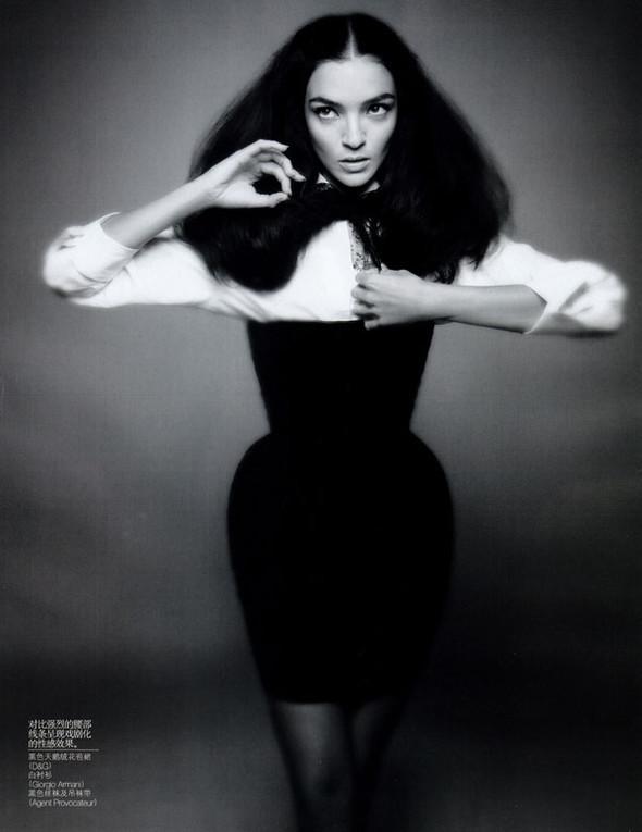Viva Maria! Italian beauty - Mariacarla Boscono. Изображение № 32.