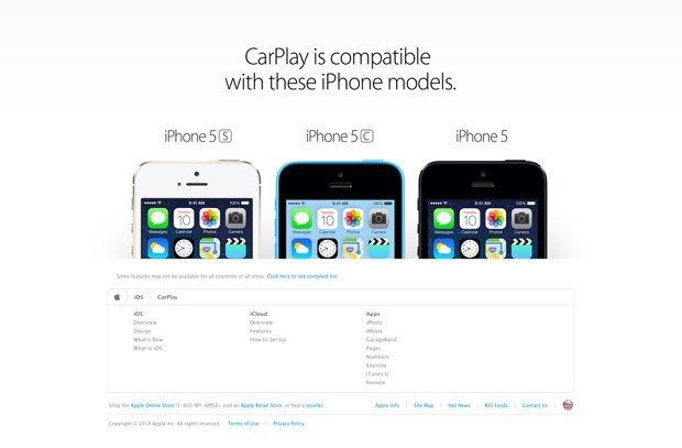 Apple анонсировала CarPlay . Изображение № 4.