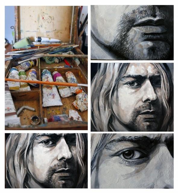 Kurt Cobain Холст,масло. Изображение №3.