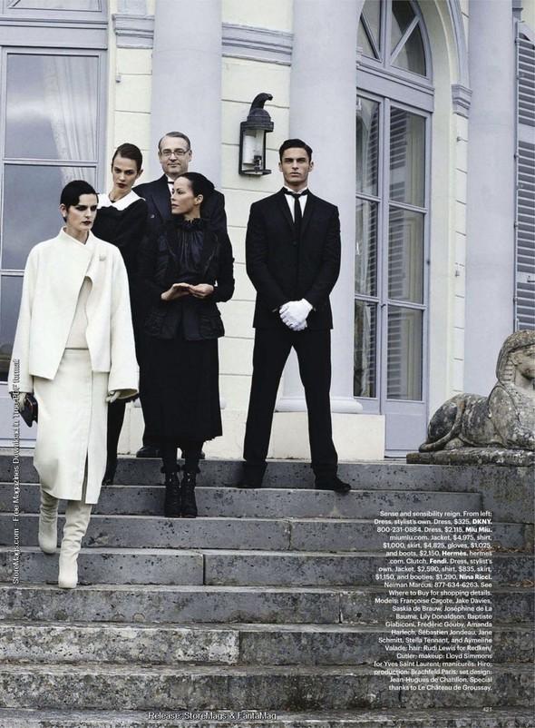Съёмка: Карл Лагерфельд для Harper's Bazaar. Изображение № 12.