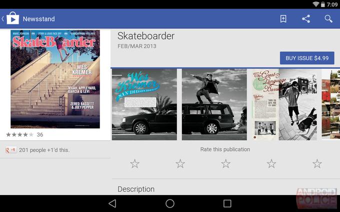 Текущий интерфейс Google Play для планшетов. Изображение № 11.