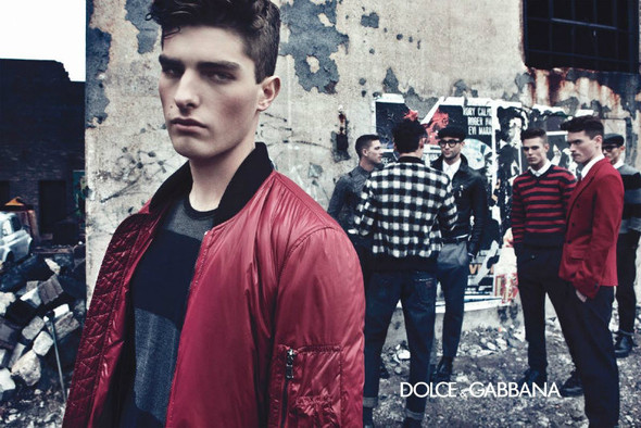 Мужские кампании: Fendi, Dolce & Gabbana и Ralph Lauren. Изображение № 9.