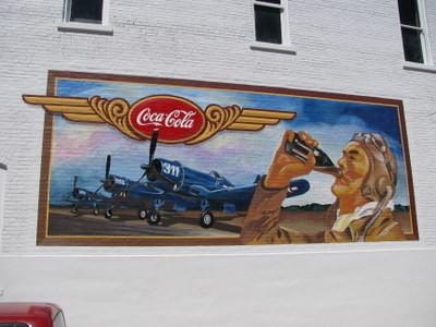 Винтажная настенная роспись дляCoca-Cola. Изображение № 6.