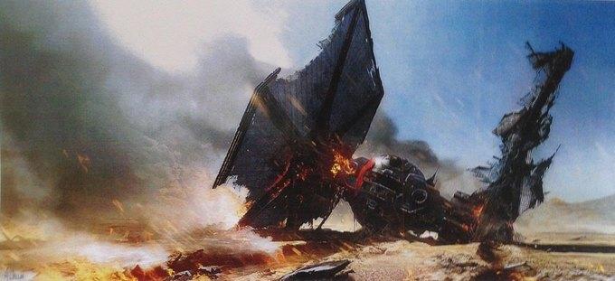 В Сеть выложили 32 концепт-арта для «Звёздных войн VII». Изображение № 15.