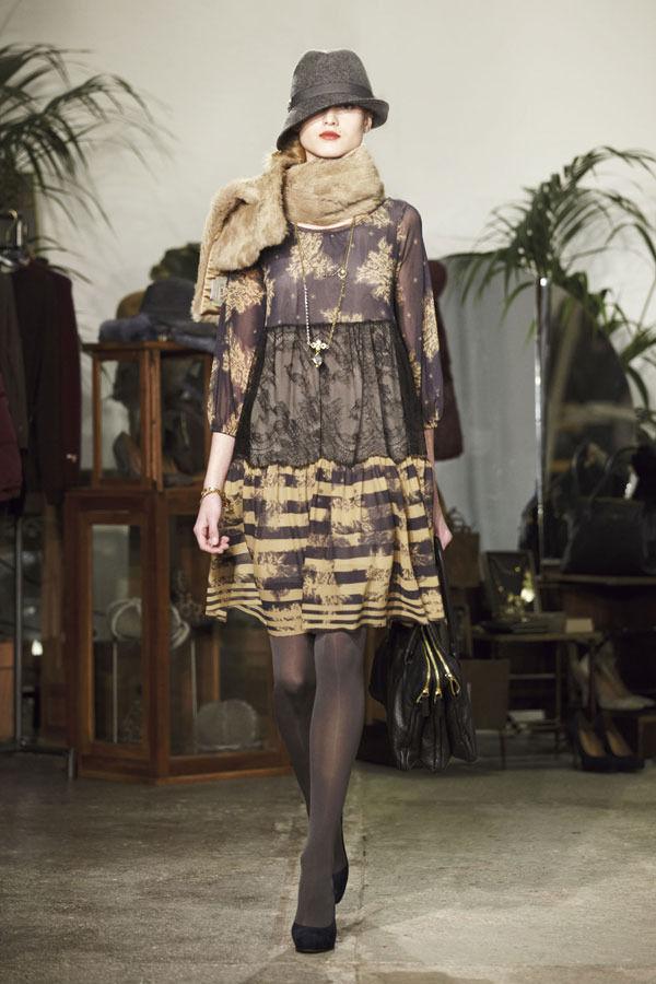 Ретро всегда в моде. Aniye By, осень-зима 2012/13. Изображение № 15.