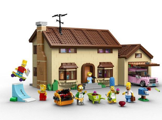 Lego выпустит первый официальный набор «Симпсонов». Изображение № 1.
