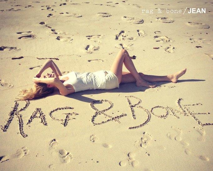 Камила Роу сняла Поппи Делевинь для Rag & Bone. Изображение № 15.