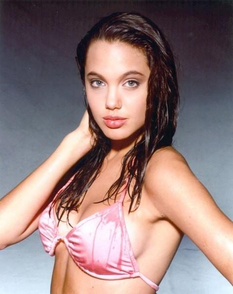 Первая фотосессия Анджелины Джоли. 1989 год. Изображение №3.