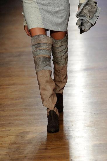 Изображение 5. Неделя моды в Нью-Йорке: обувь.. Изображение № 5.
