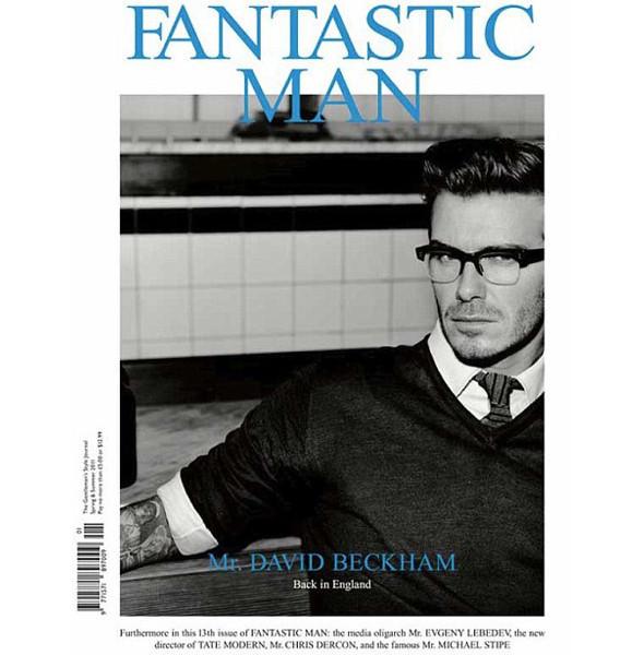Изображение 3. Дэвид Бекхэм снялся для обложки Fantastic Man.. Изображение № 1.