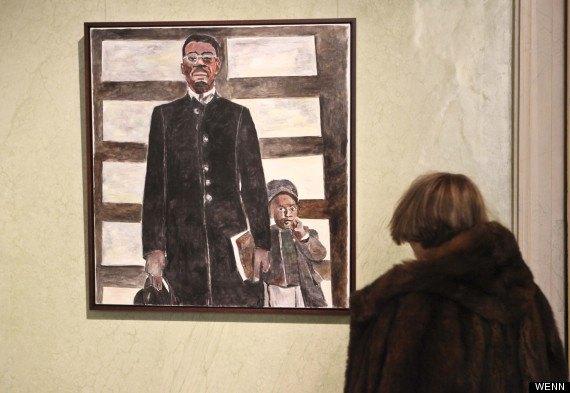 В Милане открылась выставка картин Боба Дилана. Изображение № 2.