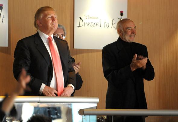 Dressed to Kilt Шон Коннери и Дональд Трамп. Изображение № 25.