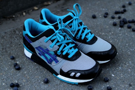 Asics Gel Lyte III Blueberry 2012 Re-Release. Изображение № 3.
