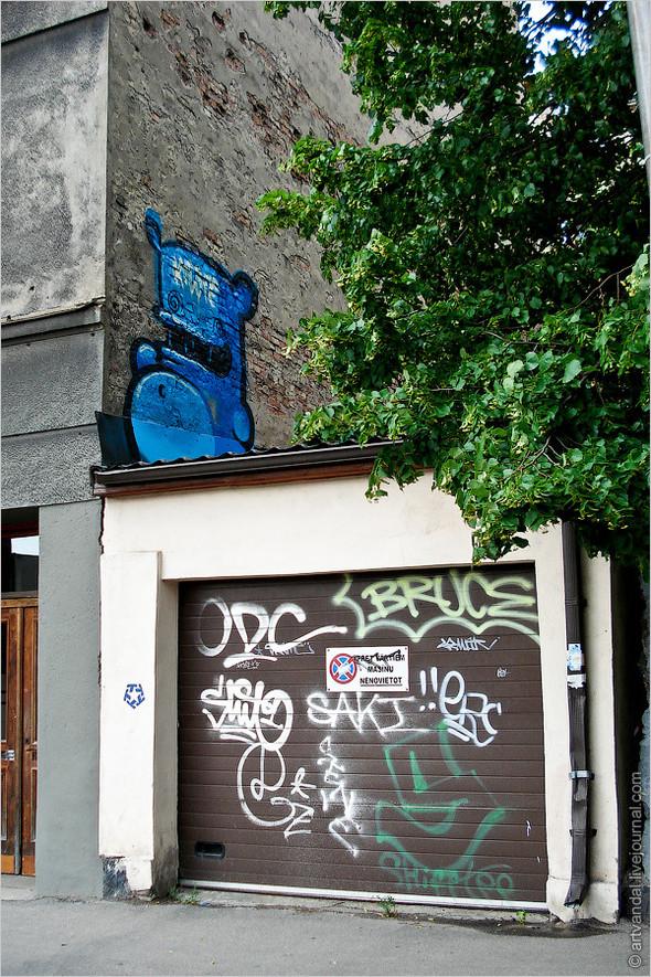 Стрит-арт и граффити Риги. Изображение № 7.