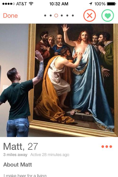 Тест дня: на фоне какого искусства фотографируются мужчины из Tinder. Изображение № 25.