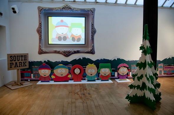 Выставка Рона Инглиша в честь South Park. Изображение № 1.