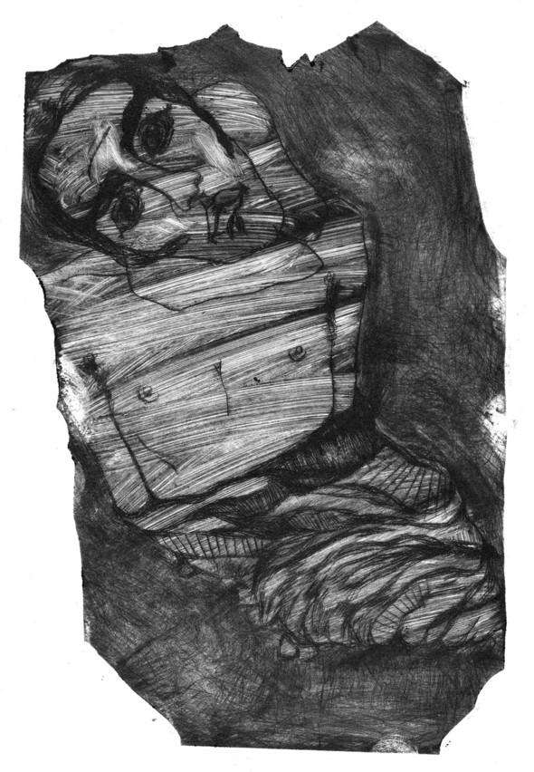 Ручная графика Ирины Сазоновой «Эхо». Изображение № 9.