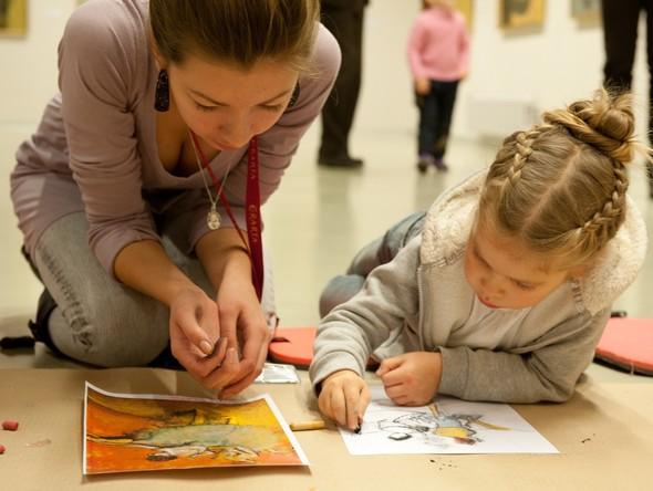 Современное искусство в руках детей. Изображение № 5.