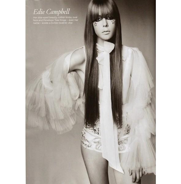 Новые съемки: Elle, Marie Claire, Vogue и другие. Изображение № 29.