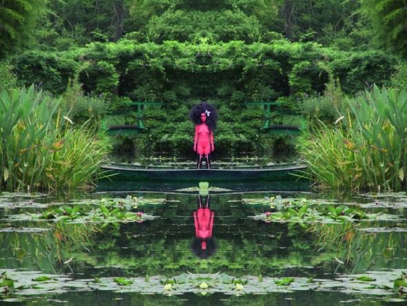 Съемка в стиле киберпанк: Незваный гость в райском саду. Изображение № 3.