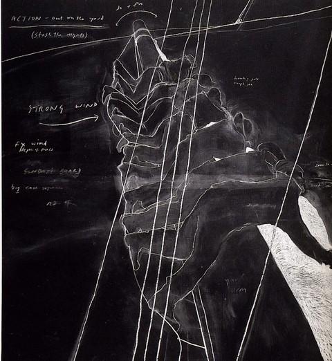 Грифельная доска какхолст: инсталляции Тациты Дин. Изображение № 6.