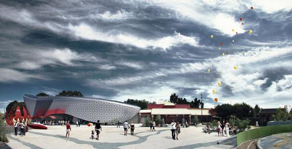 Новое здание музея «Золотой дракон» построят по Фэн Шуй. Изображение № 1.