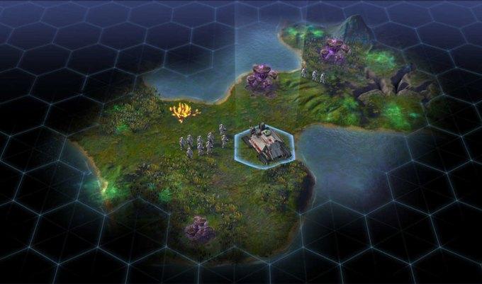 Вышел трейлер научно-фантастической стратегии Sid Meier's Civilization. Изображение № 1.