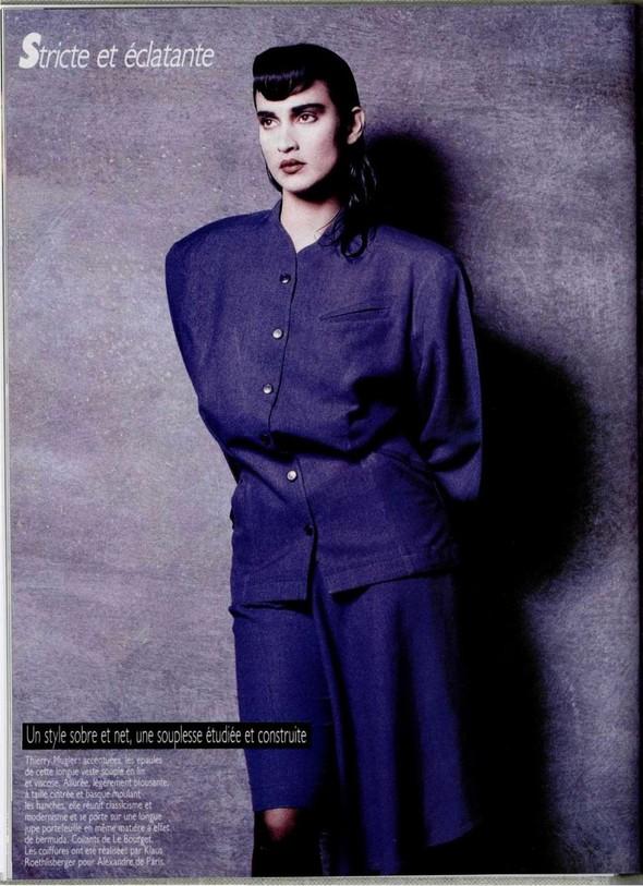 Архивная съёмка: Беате Ханзен для L'Officiel, 1986. Изображение № 2.