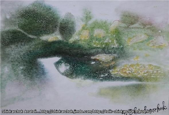 Shinkarchuk Anatoly watercolor and Japan Шинкарчук Анатолий акварель и Япония. Изображение № 4.