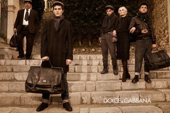 Кампании: Balenciaga, Celine, Dolce & Gabbana и другие. Изображение № 16.