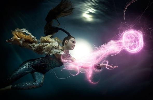 Подводная «художница» – Зена Холлоуэй. Изображение № 14.