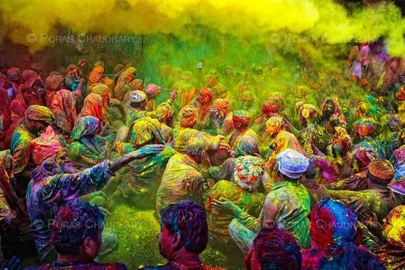 Торжество цвета. Poras Chaudhary. Изображение № 8.