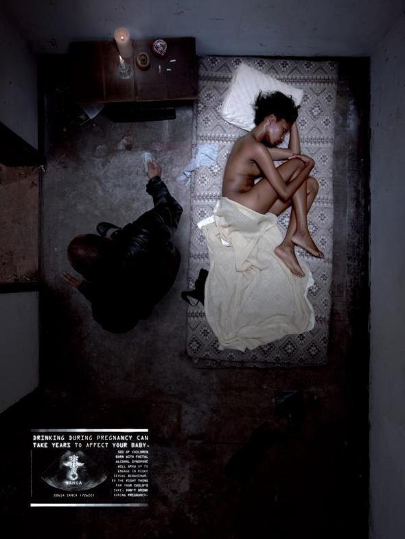 Изображение 3. Реклама против проституции.. Изображение № 2.
