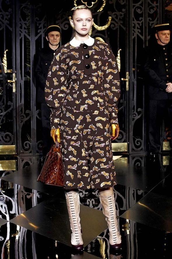 Изображение 21. Louis Vuitton Fall 2011.. Изображение № 21.