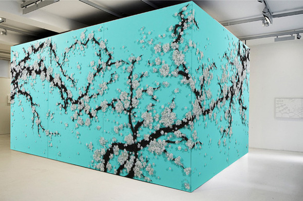 Тысячи мелочей: Настенные панно Рен Хванг. Изображение № 7.