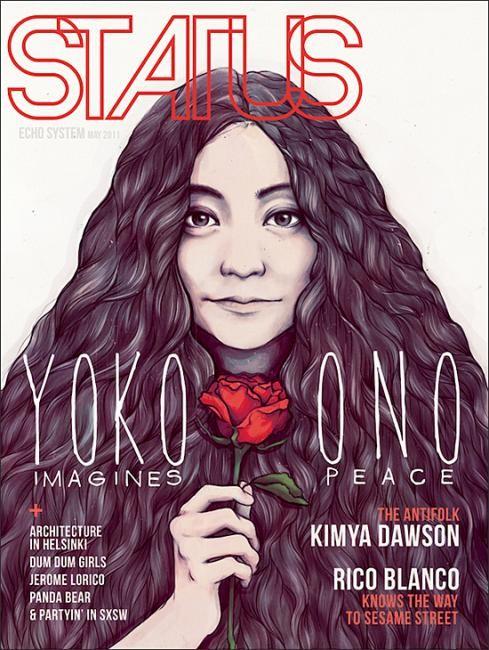 Самые красивые обложки журналов в 2011 году. Изображение № 127.