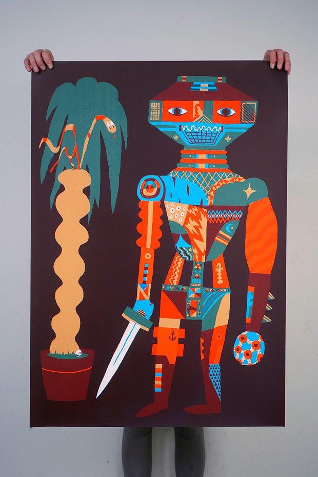 50 постеров, которые вдохновляют заняться шелкографией. Изображение № 48.