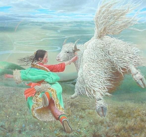 Wang Yi Guang. Feitain, или летающий пух. Изображение № 22.