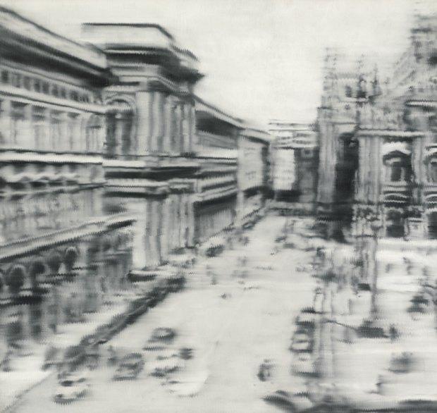 Domplatz, Mailand 1968 года Герхарда Рихтера, $46,3 млн. Изображение № 3.