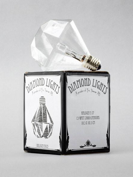 Изображение 1. Лампочки-бриллианты Eric Therner.. Изображение № 1.