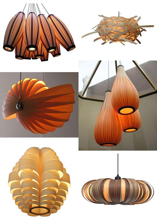 Скульптурные светильники из фанеры от Passion 4 Wood. Изображение № 8.
