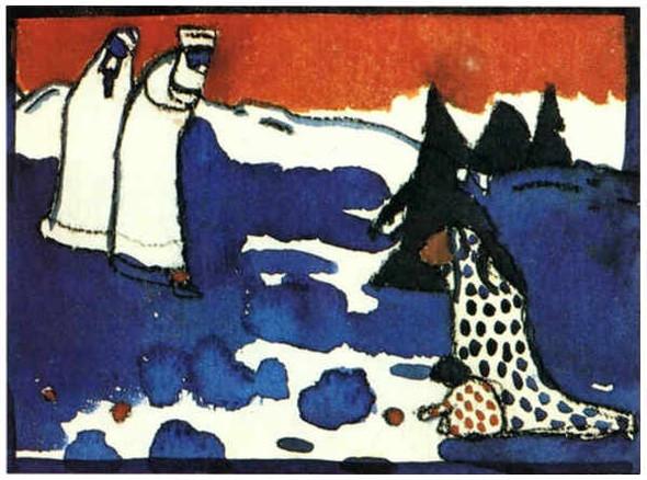 Коллекция работ В.В. Кандинского. Изображение № 78.