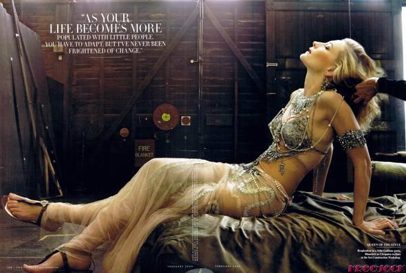 Кейт Бланшетт вжурнале Vanity Fair. Изображение № 6.