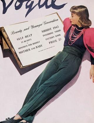 История глазами обложки Vogue (Британия). Изображение № 30.